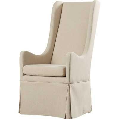 Saltash Upholstered Dining Chair, Neutral Linen - Wayfair