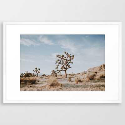 Joshua Tree II / California Desert Framed Art Print - Society6