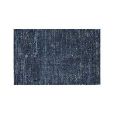 Vaughn Modern Blue Rug - Crate and Barrel