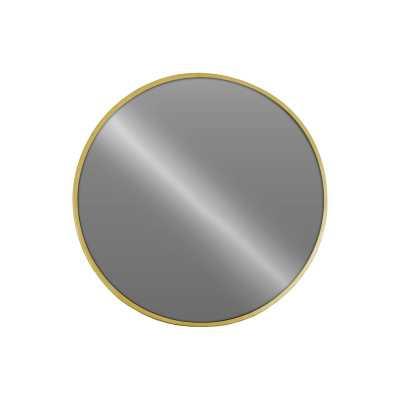 Kelleia Metal Round Wall Mirror-gold - Wayfair