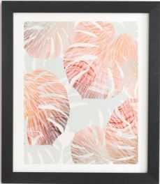 BEACH ROMANCE II Black Framed Wall Art - Wander Print Co.
