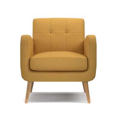 Valmy Lounge Chair - Mustard Yellow - AllModern
