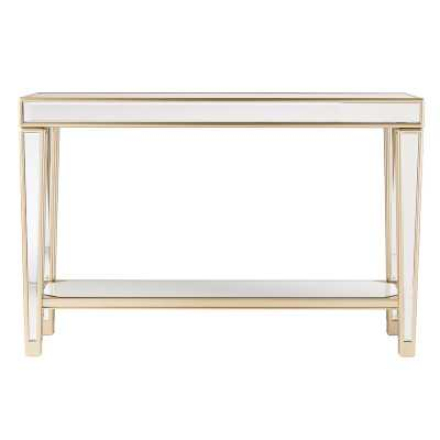 Paulornette Mirrored Console Table - Wayfair