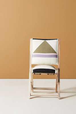 Louise Gray Terai Folding Chair - Anthropologie