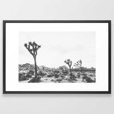 Joshua Tree V / California Desert Framed Art Print - Society6