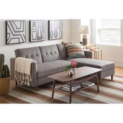 Brandi Reversible Sleeper Sectional - AllModern