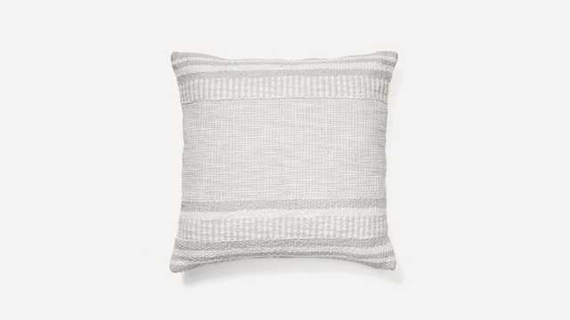 The Woven Static Pillow Cover - Burrow
