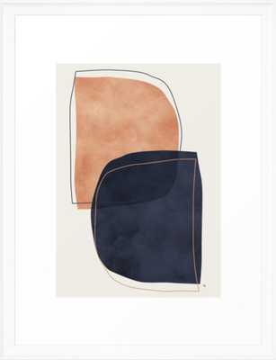 """Nova Framed Art Print 20 x 26"""" scoop white - Society6"""