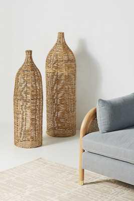 Birdie Wicker Vases, Set of 2 - Anthropologie