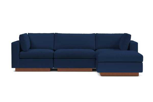 Taylor Plush 4pc Modular Chaise Sectional Sofa - Apt2B