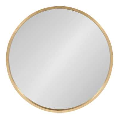 Swagger Modern & Contemporary Accent Mirror-gold - Wayfair