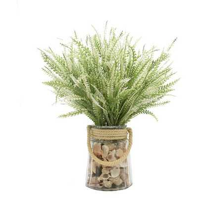 Fern Floral Arrangement in Vase - Wayfair