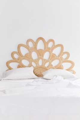 Magdalene Floral Headboard - natural - Urban Outfitters