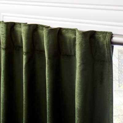 "Cotton Viscose Evergreen Panel 48""x120"" - CB2"