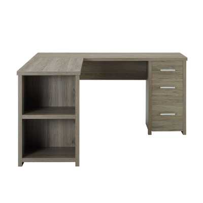 DeSandre L-Shape Executive Desk - Wayfair