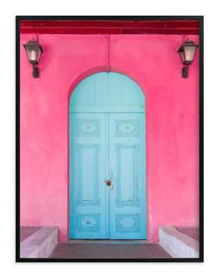 "pandora's door, framed art print 30 x 40"" - Minted"