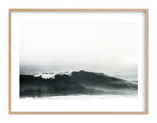 "Mariner's Muse - 40""x30"", Natural Raw Wood Frame - Minted"