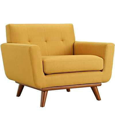 ENGAGE UPHOLSTERED ARMCHAIR - Modway Furniture