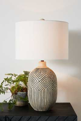 Zoya Table Lamp - Anthropologie