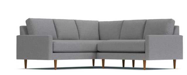 Scott 2pc L-Sectional Sofa - Mountain Grey - Apt2B