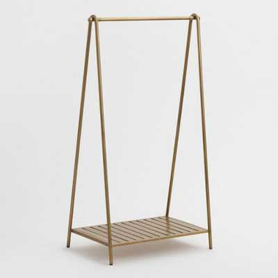 Gold Metal Clothing Rack by World Market - World Market/Cost Plus