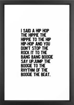 RAPPERS DELIGHT Hip Hop CLASSIC MUSIC Framed Art Print - Society6