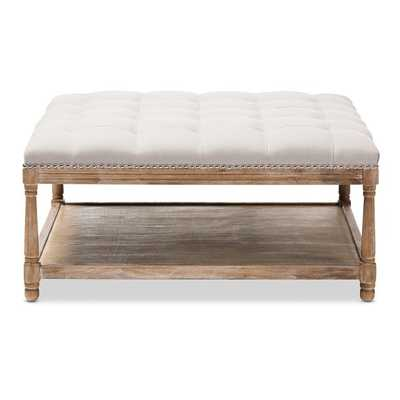 Seana French Cocktail Ottoman - Wayfair