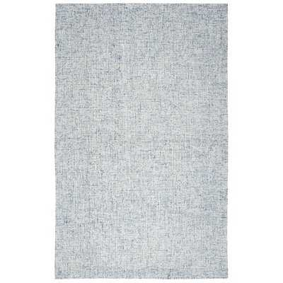 Pershing Hand-Tufted Wool Blue Area Rug - AllModern