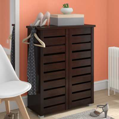 Rebrilliant 15 Pair Shoe Storage Cabinet - Wayfair