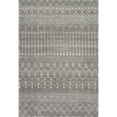 Arcadia Dark Gray Area Rug - Wayfair