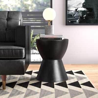 Kuala Hourglass End Table - AllModern