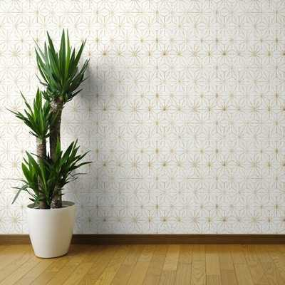 Lofton Geometric Removable Peel and Stick Wallpaper Panel - Wayfair