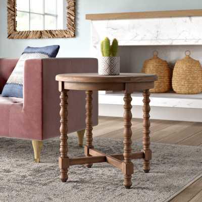Haylie Wooden End Table - Wayfair