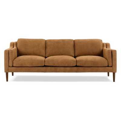 Jannie Leather Sofa - Wayfair