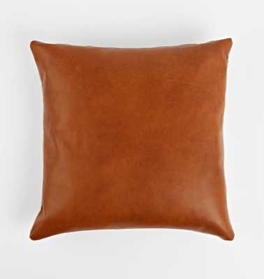 Leather Pillow Cover - Rejuvenation