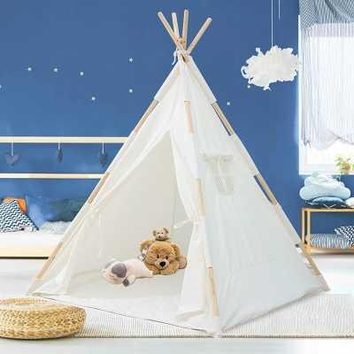 Sunvivi Indoor/Outdoor Fabric Pop-Up Triangular Play Tent with Carrying Bag - Wayfair