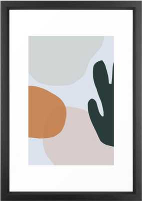 "Floop 5 Framed Art Print, 15"" x 21"" - Society6"