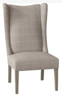 COPLEY UPHOLSTERED WINGBACK SIDE CHAIR - Perigold