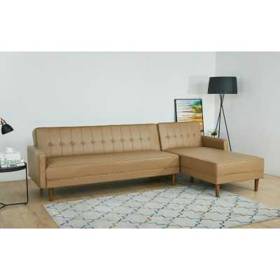 Epperson Convertible Reversible Reclining Sectional Sofa Bed - Wayfair
