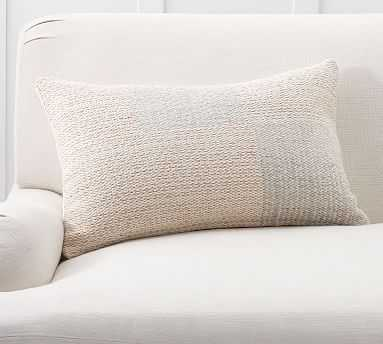 "Mali Lumbar Pillow Cover, 16 x 26"", Blush Multi - Pottery Barn"