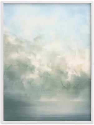 "Day dream - 30""x40"" - White Wood Frame - Minted"