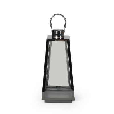 Grace Modern Stainless Steel Outdoor Lantern - Wayfair