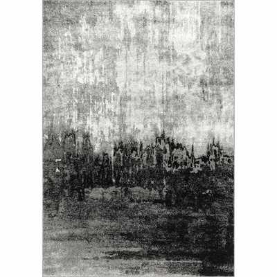 Virginia Black/Gray Area Rug - Wayfair