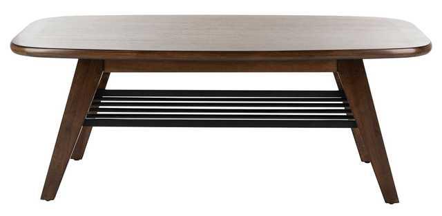 Oren 2 Tier Coffee Table - Dark Walnut - Arlo Home - Arlo Home
