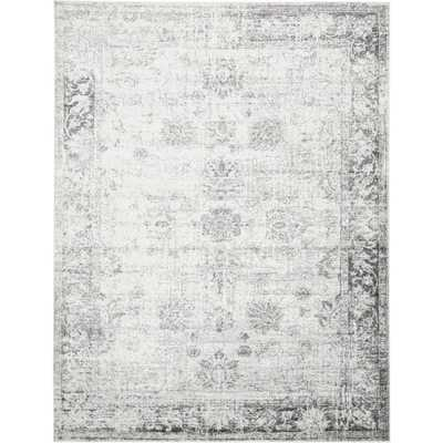 Sofia Casino Gray 9' 0 x 12' 0 Area Rug - Home Depot