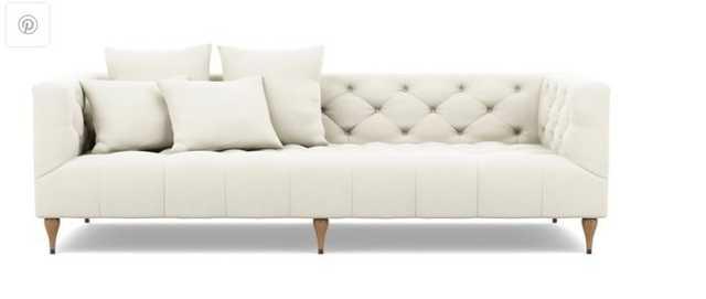 MS. CHESTERFIELD Fabric Sofa - Interior Define