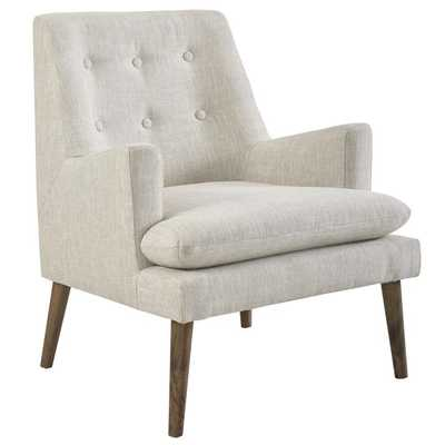 LEISURE UPHOLSTERED LOUNGE CHAIR IN BEIGE - Modway Furniture