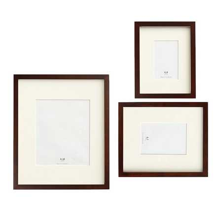 Wood Gallery, Set Of 3 - Espresso (4x6, 5x7, 8x10) - Pottery Barn