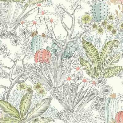 Flowering Desert - York Wallcoverings