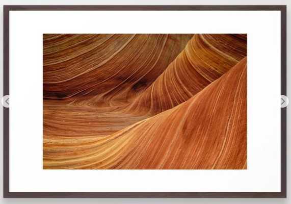 "Sandstone Framed Art Print- Large (gallery) - 26"" X 38"" ($148.99) - Society6"